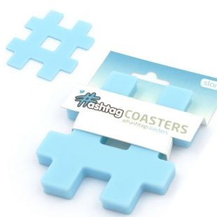 Posavasos Hashtag de Twitter (pack 4)