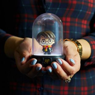 Mini lámpara Kawaii de Harry Potter con campana