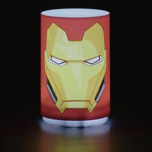 Punto de luz con sonido Iron man