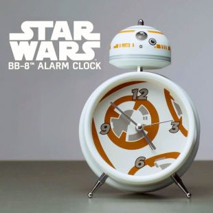 Reloj despertador droide BB-8 de Star Wars