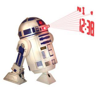 Reloj Despertador Proyector R2-D2