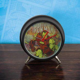 Reloj despertador lenticular Marvel Comics