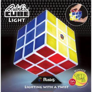 Lámpara oficial cubo Rubik jugable
