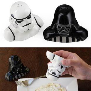 Salero pimentero Vader y Stormtrooper