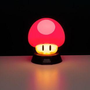Lámpara 3D Seta de Super Mario