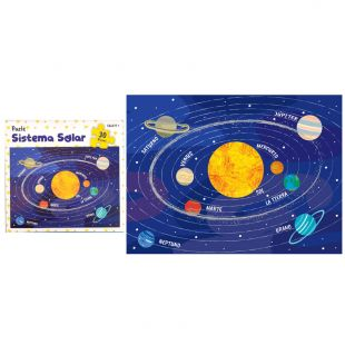 Puzle para niños Sistema Solar, 30 piezas 28,5 x 21 cm