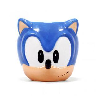 Taza 3D del erizo Sonic, de SEGA