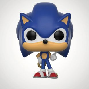 Figura Funko Pop! Sonic, de Sonic the Hedgehog