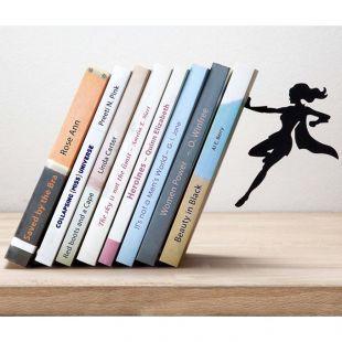 Soporte para libros Superwoman