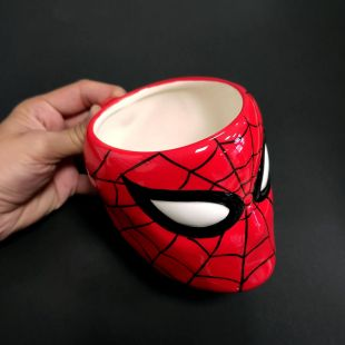 Taza 3D Spiderman, de Marvel
