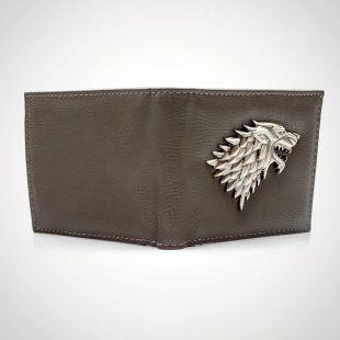 Cartera billetera Stark de Juego de Tronos