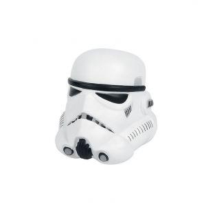 Figura antiestrés 9cm casco StormTrooper, de Star Wars
