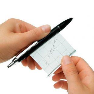 Bolígrafo para chuletas