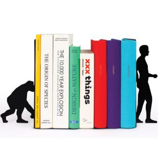 Soporte para libros Evolution Bookends