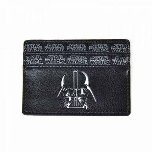 Tarjetero Darth Vader con bolsillo