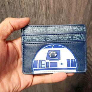 Tarjetero R2D2 de Star Wars con bolsillo para billetes