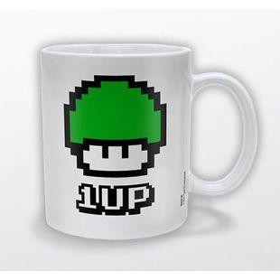 Taza 1 UP Super Mario