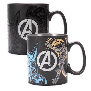 Taza Avengers termosensible que cambia de color, de Marvel
