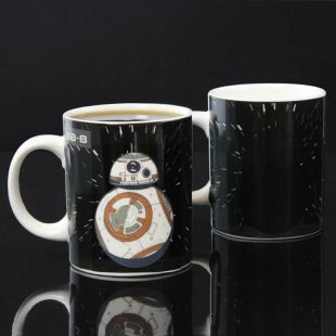 Taza droide BB-8 Star Wars que cambia de color