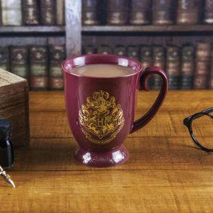Taza clásica de la escuela Hogwarts saga Harry Potter