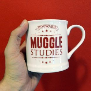 Taza clásica Muggle studies, Harry Potter