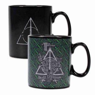 Taza termosensible Reliquias de la Muerte de Harry Potter