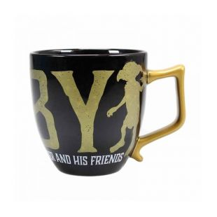 Taza dorada Dobby Save Friends, de Harry Potter
