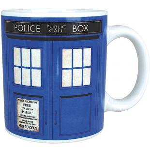 Taza de cerámica Dr. Who TARDIS