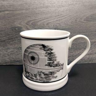 Taza estilo vintage de la Estrella de la Muerte, de Star Wars
