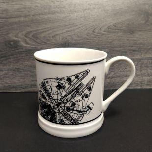 Taza estilo vintage del Halcón Milenario, de Star Wars
