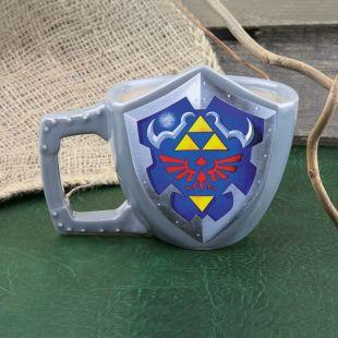 Taza Legend of Zelda escudo Hyliano