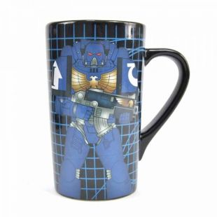 Taza latte Warhammer Space Marine termosensible