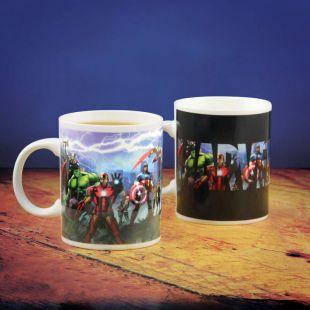Taza Avengers de Marvel cambia de color