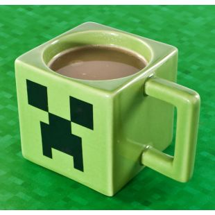 Taza Minecraft, Creeper Face