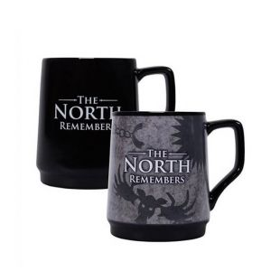 Taza termosensible The North Remembers, de Juego de Tronos