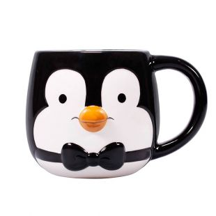 Taza con relieve camarero pingüino de Mary Poppins