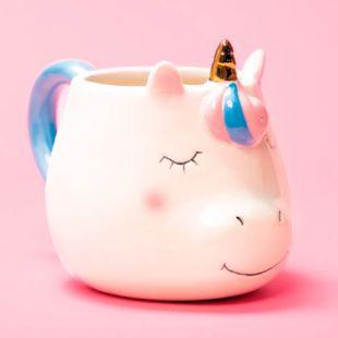 Taza Kawaii 3D Unicornio
