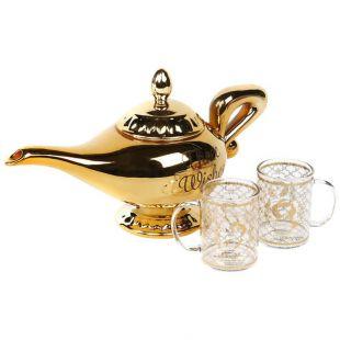 Set de Tetera lámpara de Aladdin y vasos