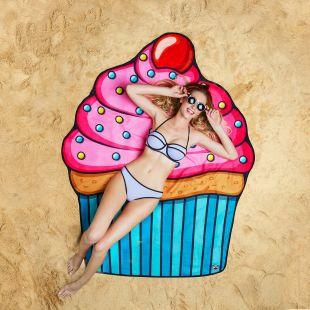 Toalla-Manta de playa, Cupcake
