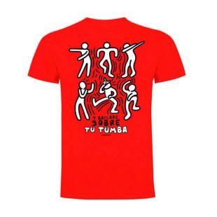 Camiseta Battleroyale Y Bailaré sobre tu Tumba