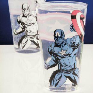 Vaso Capitán América cambia de color