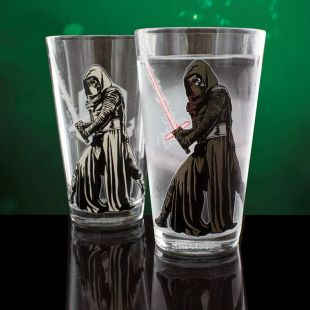 Vaso Kylo Ren de Star Wars que cambia de color