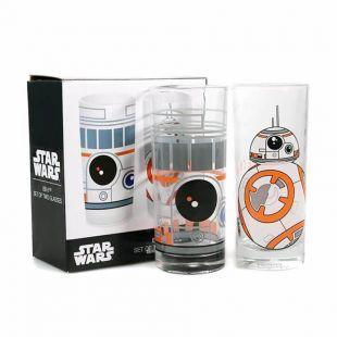 Set de dos vasos Droide BB-8 de Star Wars
