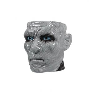 Taza con relieve White Walker de Juego de Tronos