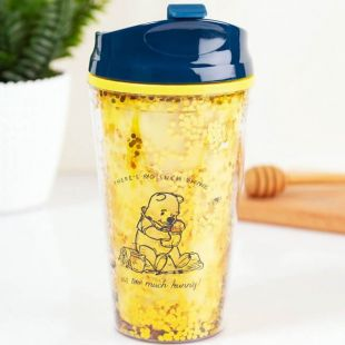 "Taza de viaje Winnie de Pooh ""Hunny"""