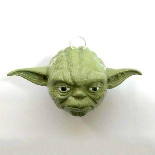 Bola de navidad cabeza de Yoda, de Star Wars