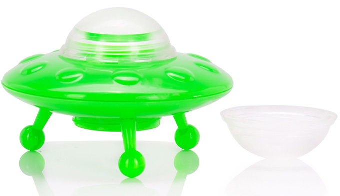 Funda para lentillas platillo volante tienda de regalos - Estuche para lentillas ...