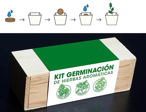 Comprar kit autocultivo hierbas aromaticas