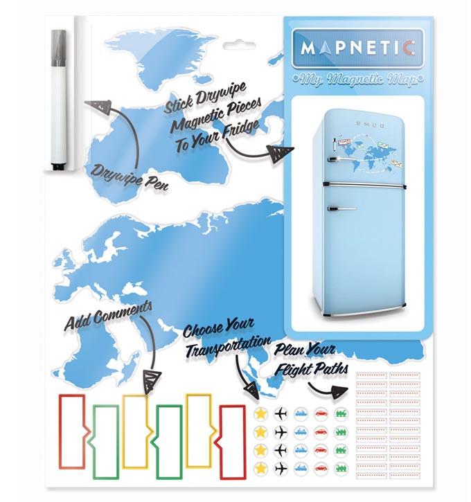 Mapamundi magnetico Mapnetic