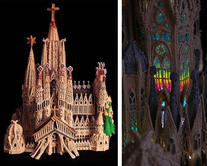 Sagrada Familia con 3Doodler